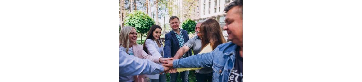 Команда - это люди, которых объединяет одна цель.